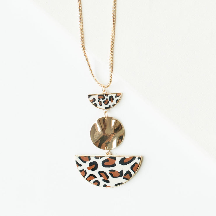 Necklace Shea Leopard