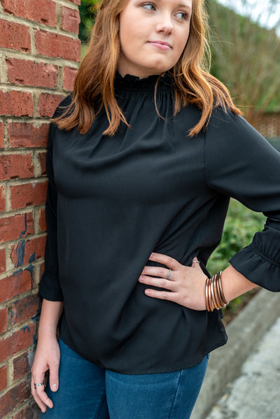 Michelle Long sleeve, Black