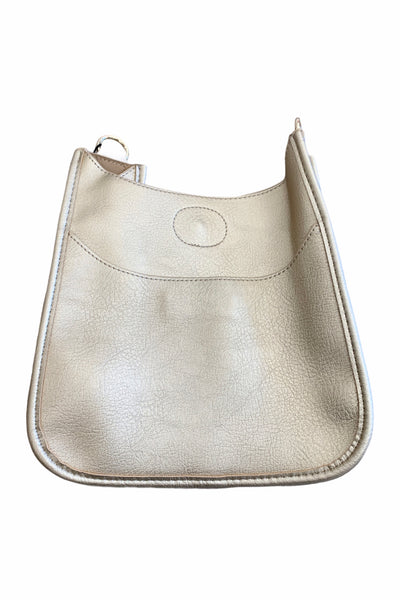Mini Messenger Bag, Gold