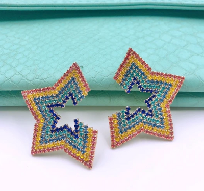 Rainbow Star Stud
