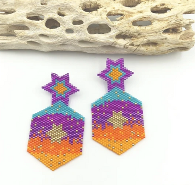 Colorful Stars Earrings