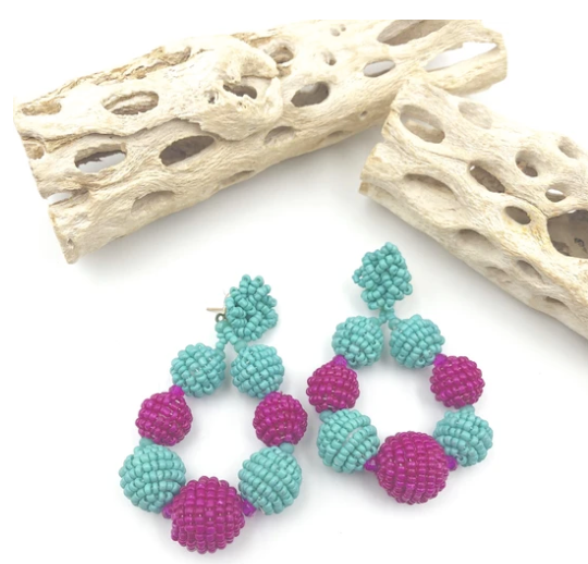 Amaranto Earrings