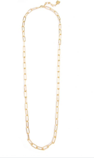 Classic Links Long Necklace