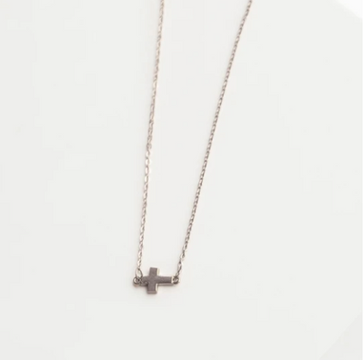 Kayla Necklace Silver