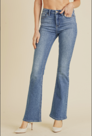 High rise Skinny Flare Medium