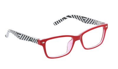 Zuma- Red Stripe blue light eye glasses