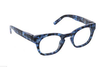 Nordic Noir- Navy Tortoise blue light eye glasses