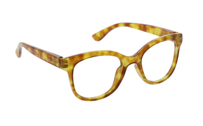 Grandview- honey tortoise blue light eye glasses