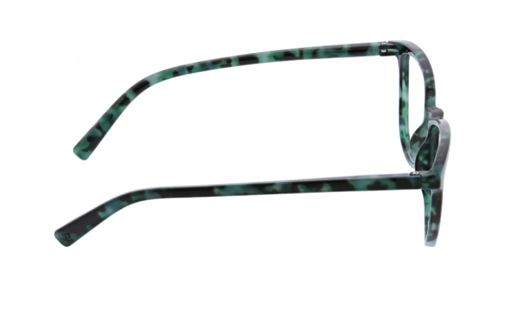 Bengal- green tortoise blue light eye glasses