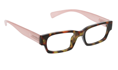 Ivy- tortoise/blush blue light eye glasses