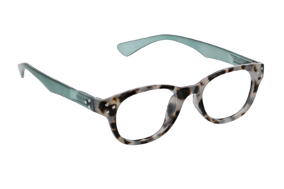 Show Topper Focus- gray/green/tortoise blue light eye glasses