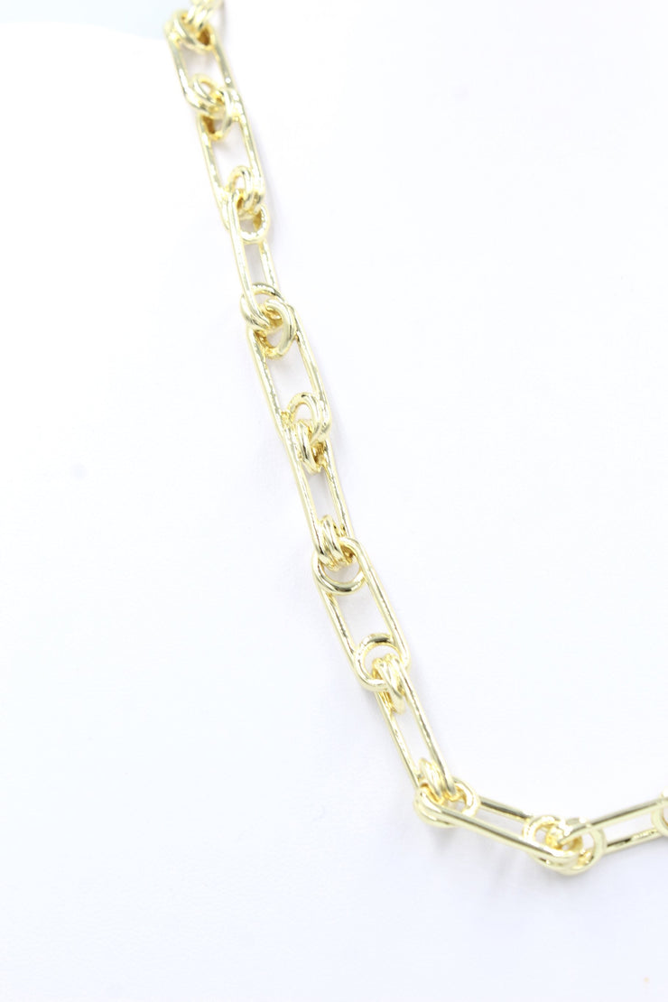 Erica Necklace, Gold