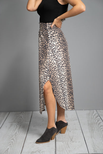 Lovely Cheetah Skirt