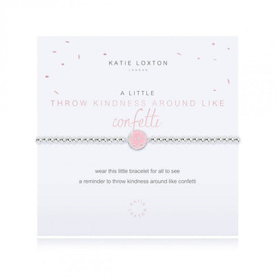 A LITTLE THROW KINDNESS AROUND LIKE CONFETTI BRACELET
