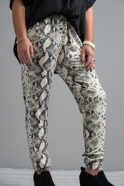 Snake Joggers, Grey