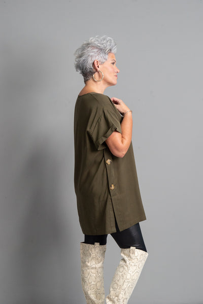 Tunic On Top, Olive