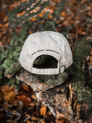 Dad Cap - Light Khaki  - Solid Ground Outdoors