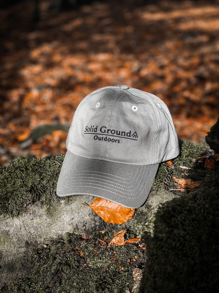 Dad Cap - Fossil Grey  - Solid Ground Outdoors