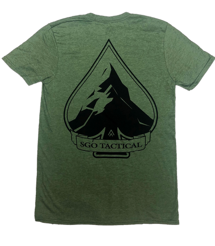 SGO Tactical - Athletic Fit Olive T-Shirt - Solid Ground Outdoors
