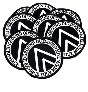SGO Crest - Velcro Patch - Solid Ground Outdoors