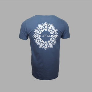 SGO - Geo Mandala - Indigo Blue - Solid Ground Outdoors