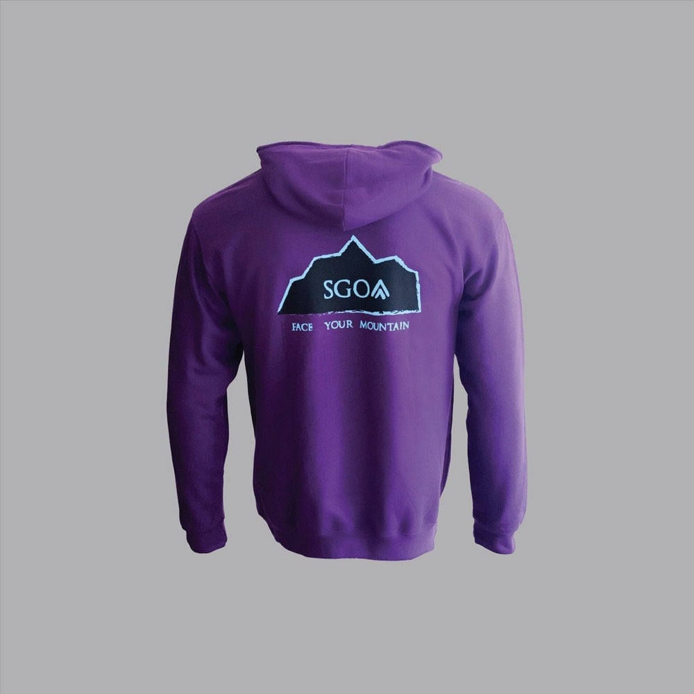 SGO New Era Hoodie - Purple