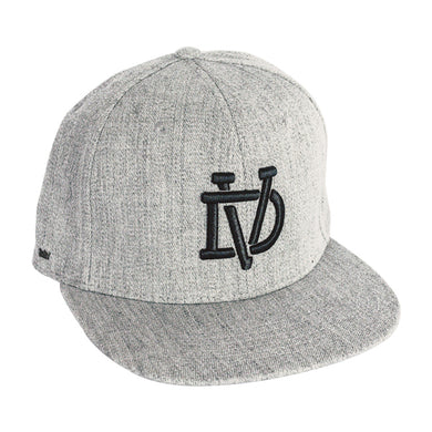 Grey Melange Flex Fit Cap