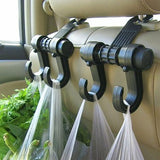 Car Seat Double Hooks