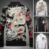 Wind Dragon Embroidery Jacket