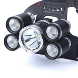 EzySurvival 'The Big Boy' - Zoomable Waterproof 5x Cree T6 Super Headlamp