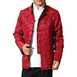 Men's Auspicious Reversible Chinese Shirt