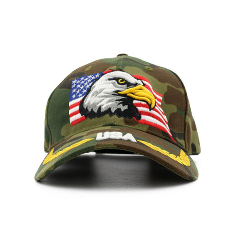 USA Eagle Camouflage Hat