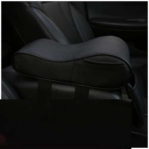 Auto Center Console Armrest Storage Pillow
