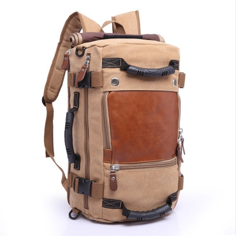 Stylish Travel Large Capacity Backpack Male Luggage Shoulder Bag