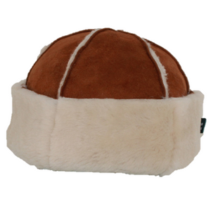 Sheepskin Beanie Hat for Men or Women