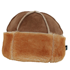 Made in Britain Sheepskin Beanie Hat