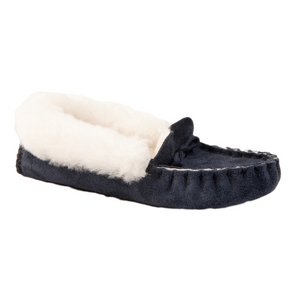 The Anglian Moccasin Sheepskin Slipper (Up to UK Size 7)