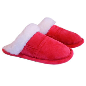 Bridgett Slip On Mule Slipper with Sheepskin Trim
