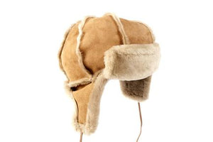 Brown Tornado Trapper Hat with Ear Flaps