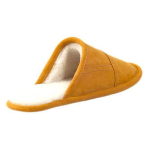 Burton Slip On Sheepskin Mule Slipper in Heritage Colours (Unisex)