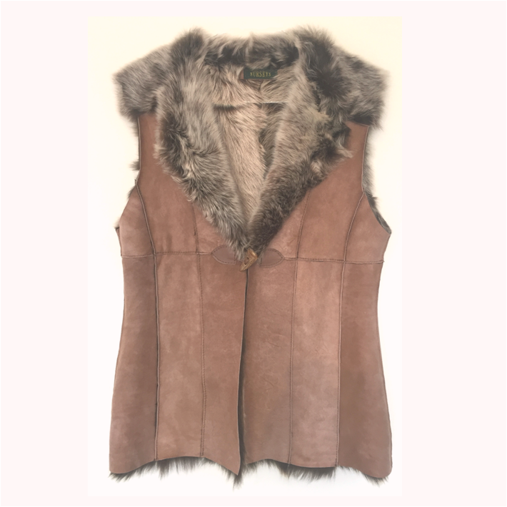 nouveaux styles 575e5 e46f6 Ladies' Toscana Lambskin and Sheepskin Gilets - Limited Edition