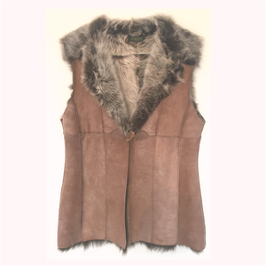 Ladies' Lambskin Toscana Gilet - Limited Edition