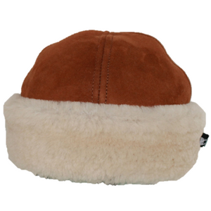 Luxury Sheepskin Pull-On Hat | Handmade in UK