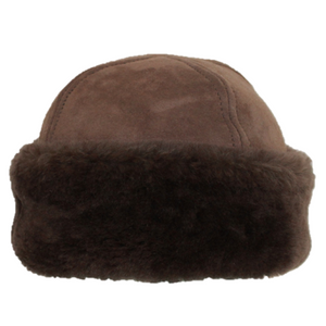 Luxury Sheepskin Hat | Made in Britain | Brown