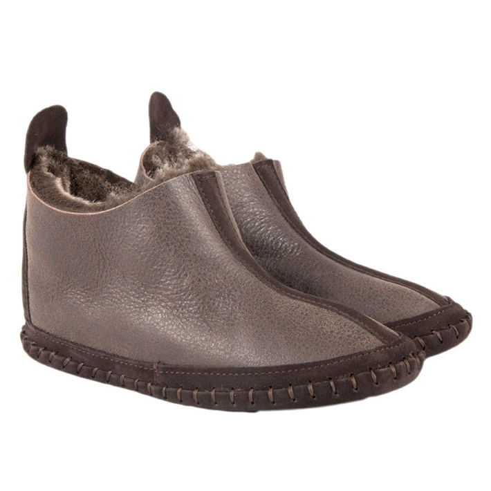 88d3166f5 Fenland Sheepskin Slipper Boots in Coco and Brown Tornado - Limited Sizes