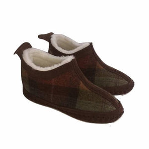 Fenland Moon Wool Slipper Boots (Up to UK Size 7)