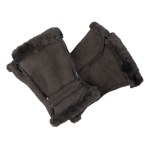 Made in Britain | Sheepskin Fingerless Mittens
