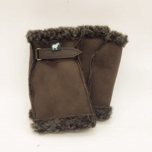 Luxury Sheepskin Fingerless Gloves