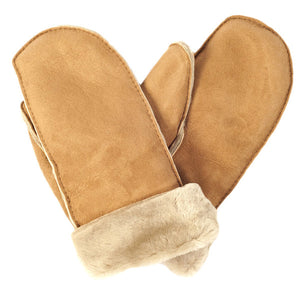 Sheepskin Mittens Handmade in Britain