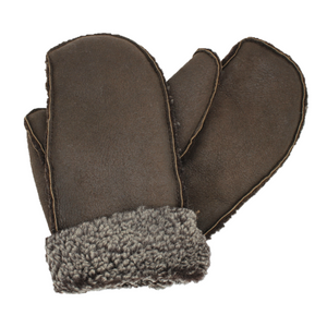 Ladies' 100% Genuine Sheepskin Mittens - Handmade in Britain